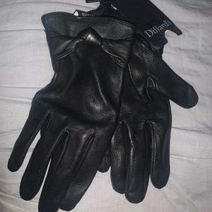 Women's Leather Gloves Size Large